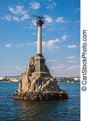 sevastopol, scuttled, schepen, monument