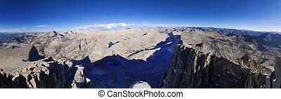 Seven Gables Summit Panorama