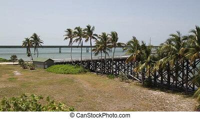 Seven Mile Bridge Island - Pigeon Island Florida Keys off...