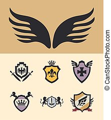 seven shields of arms