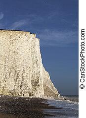 Seven Sisters cliffs, England, UK.