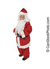 Seven-year-old Santa Claus