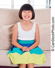 Southeast Asian child - Seven years old Southeast Asian...