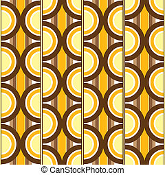 seventies circular - seventies inspired wallpaper design...