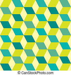 Seventies green seamless