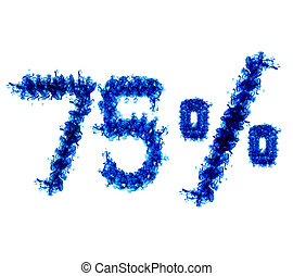 Seventy-five percent