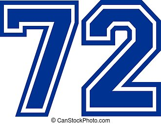 Seventy-two college number 72