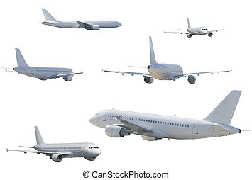 several airliner - SONY DSC