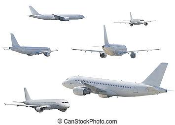 several airliner - SONY DSC