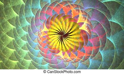 Several beautiful fractals smoothly transform one into...