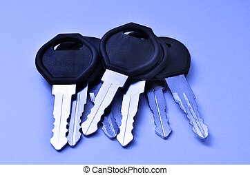 Several Keys in a Pile