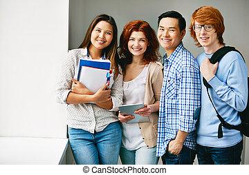Several teenagers