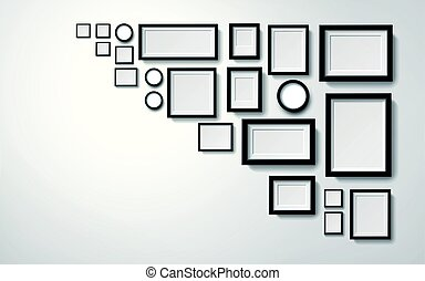 picture frames decoration - Several types picture frames...