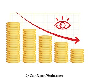 Severe Economic Slowdown - Illustration as EPS 10 File