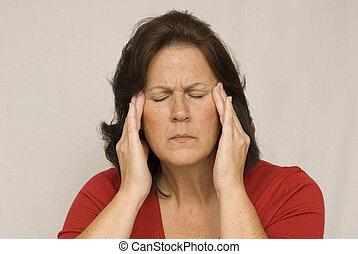Severe Headache Pain