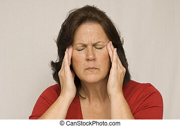 Severe Headache Pain