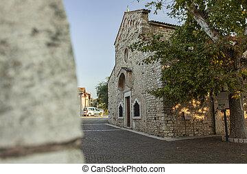 severo, italia, bardolino, iglesia, san, 15