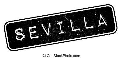 Sevilla rubber stamp