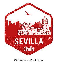 Sevilla stamp