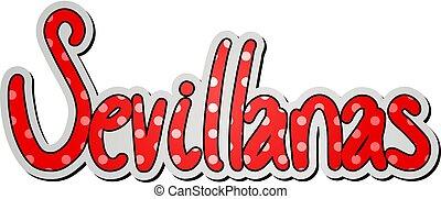 sevillanas, κόκκινο , εικόνα