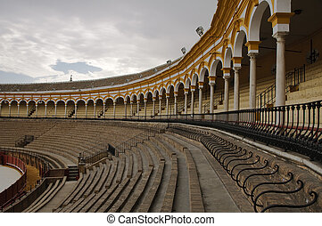 Seville bullring - Plaza de Toros de la Real Maestranza in ...