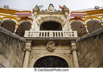 Seville bullring - Royal balcony