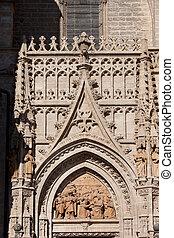 Seville Cathedral Ornamentation