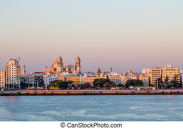 Seville from the Sea