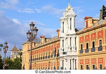Seville - Palace of Saint Telmo - historical heritage ...