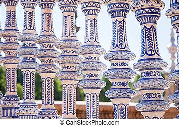 Seville, Pillars