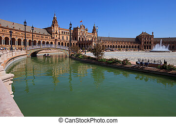 Seville, plaza de espana (spain square)