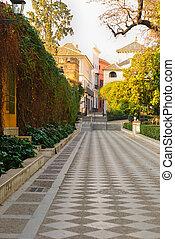 Seville's old Jewish quarter
