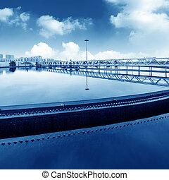 Sewage treatment plant - Modern urban wastewater treatment ...