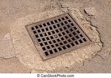 Sewer pit cover