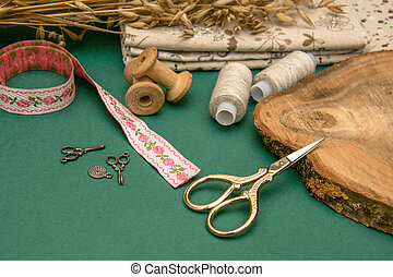 Sewing accessories and fabric for sewing and fashion