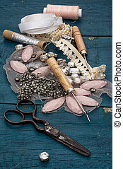 sewing accessories - manufacturing of scenery and...