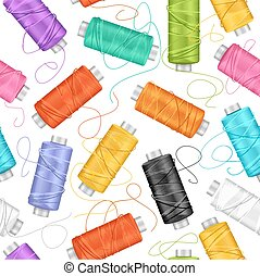 Sewing Background. Vector