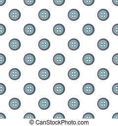 Sewing button pattern seamless