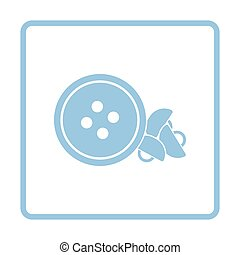 Sewing buttons icon