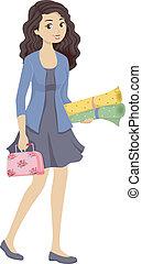 Sewing Kit Girl