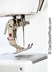 Sewing machine, detail