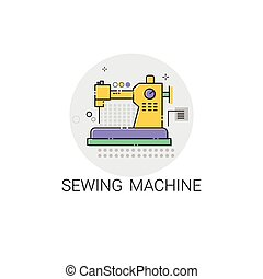 Sewing Machine Household Devices Icon