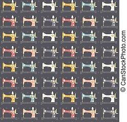 sewing machines pattern
