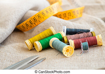 Sewing material with centimeter Tailor