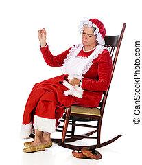 Sewing Santa's Rip