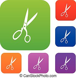 Sewing scissors set collection