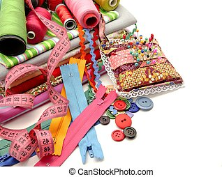 Sewing - Several tools for sewing