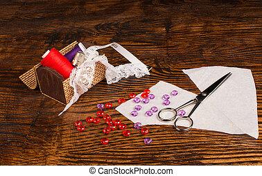 Sewing still life