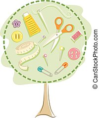 Sewing Tree
