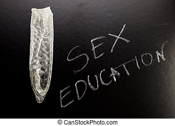 Sex education, colorful bright concept of education